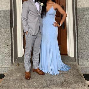 Light blue Jovani dress